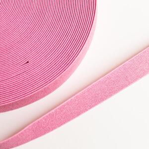 Roze glitter elastiek 25mm