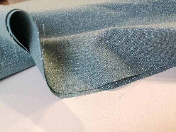 Glimmer solids petrol/zilver