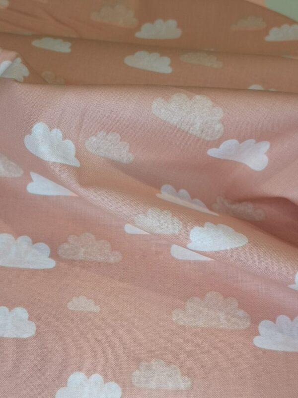 Roze wolken katoen