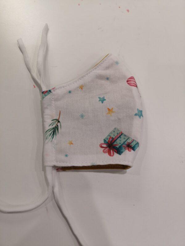 Kerst cadeautjes mondmasker elastiek